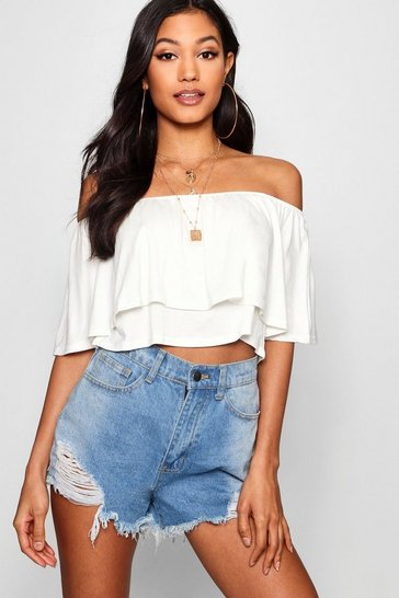 7be2c8d93 Bardot & Off the Shoulder Tops | boohoo UK