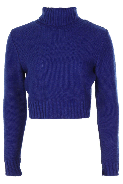 alto Jersey Cobalto cuello corto con TYv1Pt7
