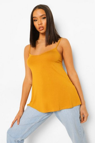 Mustard Basic Swing Cami