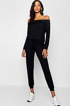 Bardot Lounge Top And Pants Set