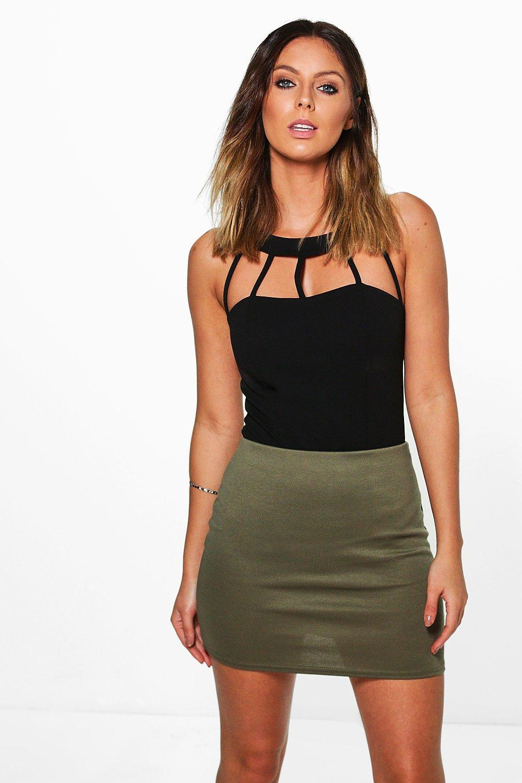 70095dabb1 Bea Basic Ponte Mini Skirt