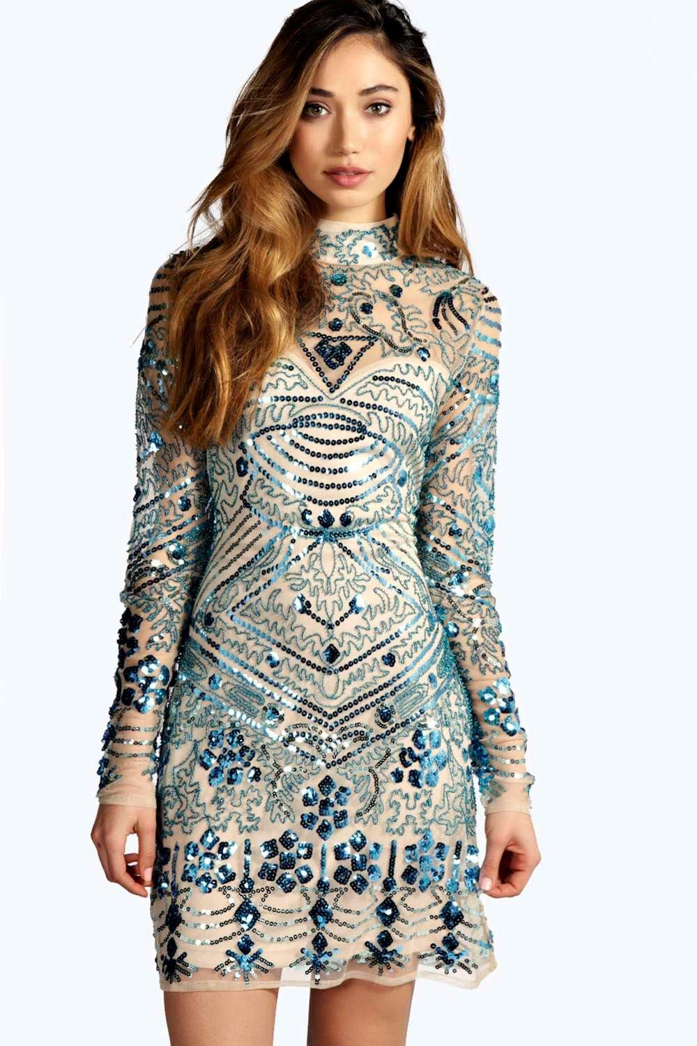 embellished dress