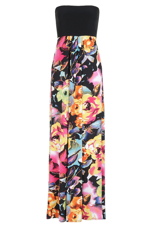 a fascia floreali abito con Maxi motivi xHY4TUwyq