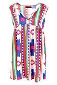 b3bfba2d94a6 ... Sophia Large Aztec Woven Smock Dress alternative image ...