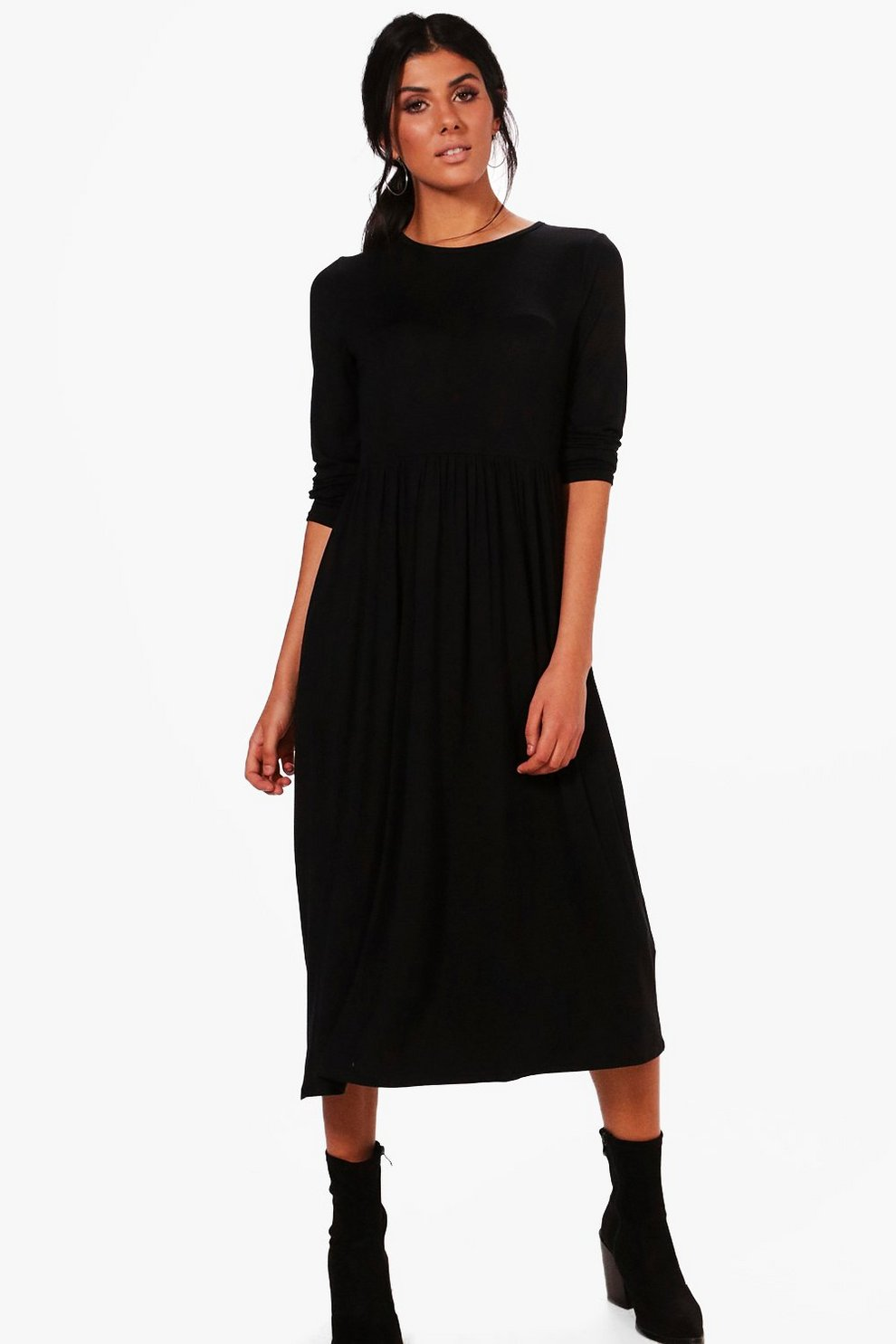 fe059e1c2fe Long Sleeve Midi Dress