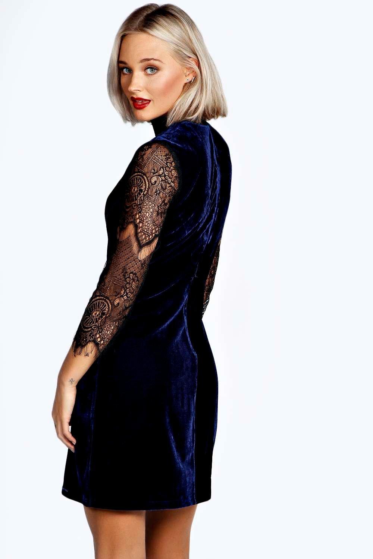 Boohoo Blue Dress