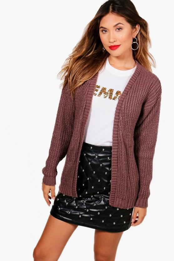 Edge To Edge Grungy Cardigan