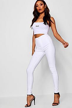 Macy High Rise Skinny Jeans
