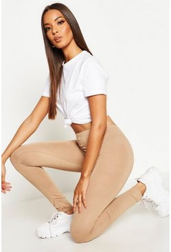 Camel Basic Jersey Leggings