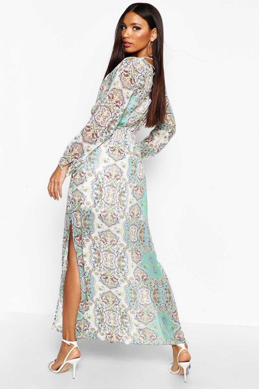 b9a7e810f092 ... Paisley Woven Maxi Dress. Hover to zoom. Close video