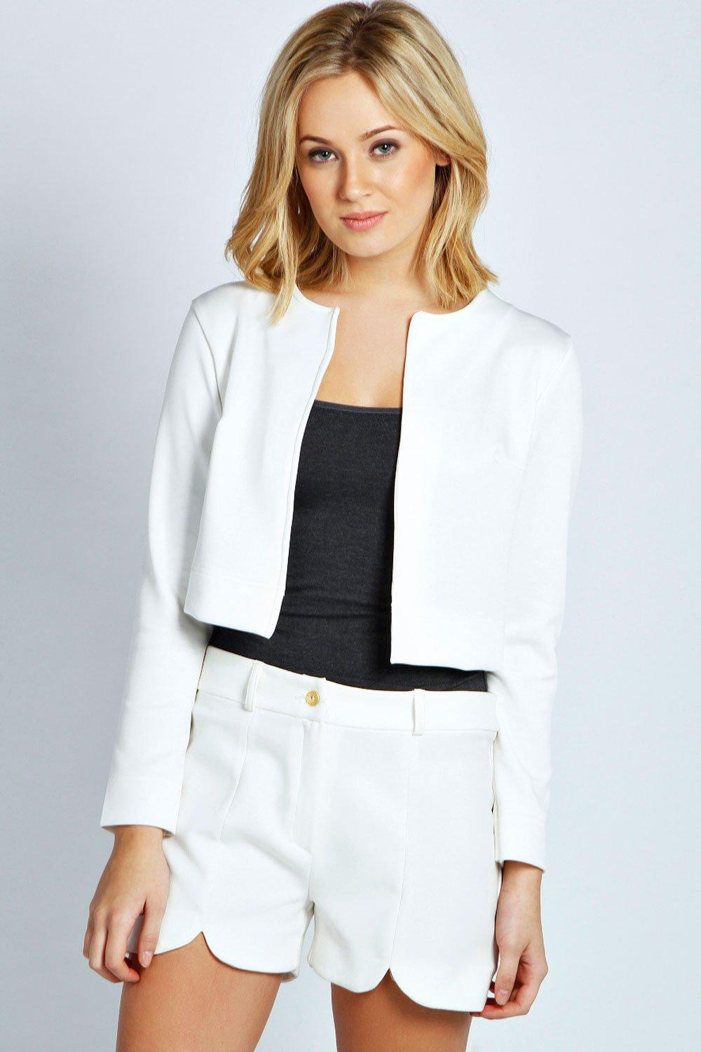 Cream jacket women