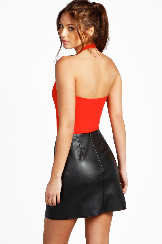 al Rojo atado Body básico cuello 6qCwREA8xR