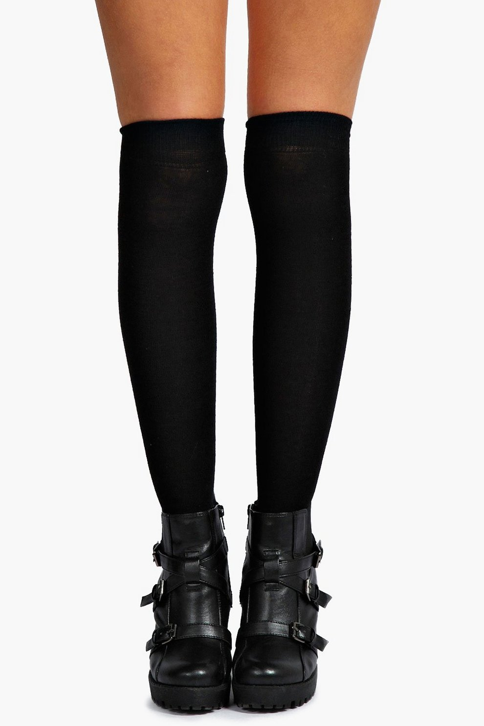 0ffdba4d2 Womens Black Knee High Socks