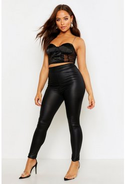 9bc6e489bcacf0 Leggings | Leather Leggings & Wet Look Leggings | boohoo