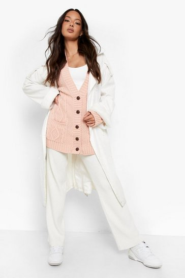 Blush Boyfriend Cardigan