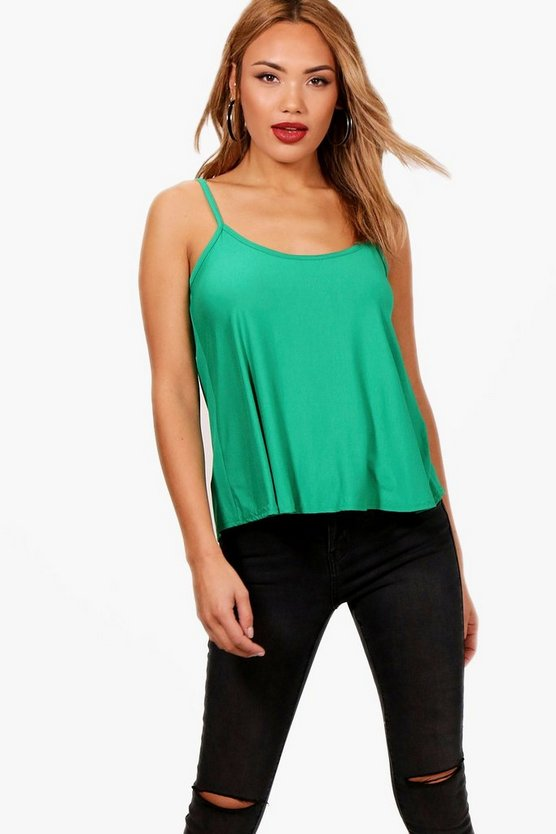 Womens Jade Basic Swing Cami