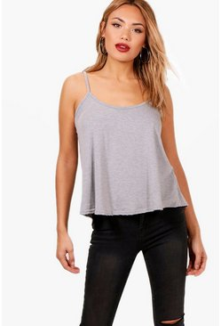 Grey Basic Swing Cami