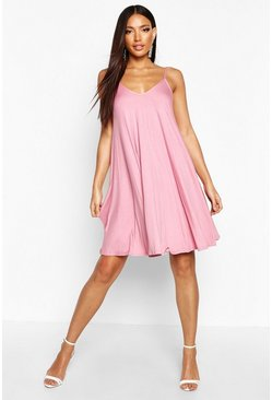 Antique rose Strappy Swing Dress