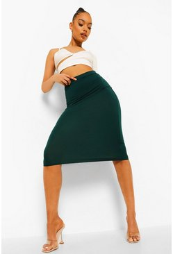 Bottle Basic Midi Jersey Tube Skirt