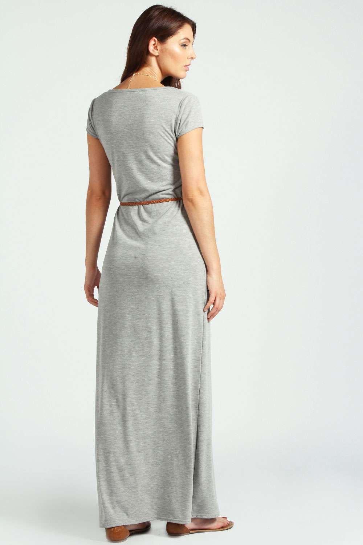 36d54fe84 vestidos largos casuales con manga corta .