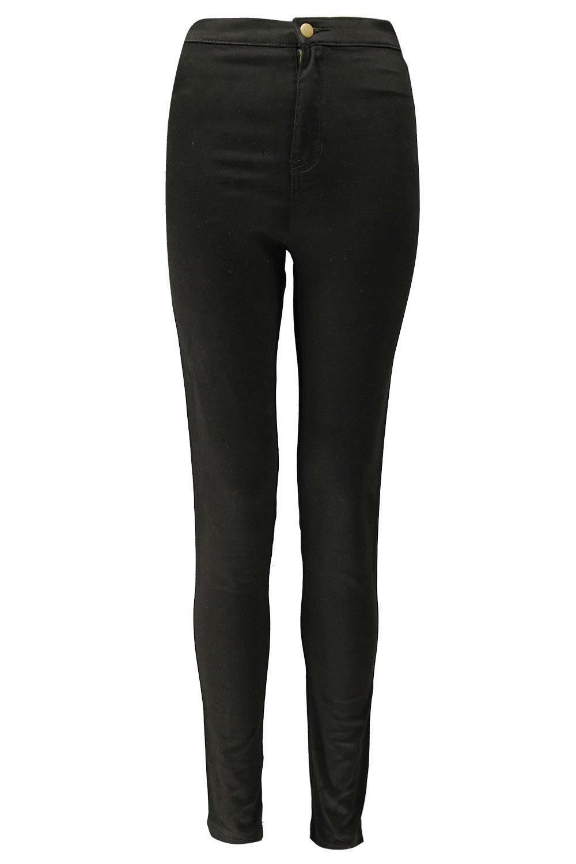 de alto disco talle negro Jeans CZaqgxw7n