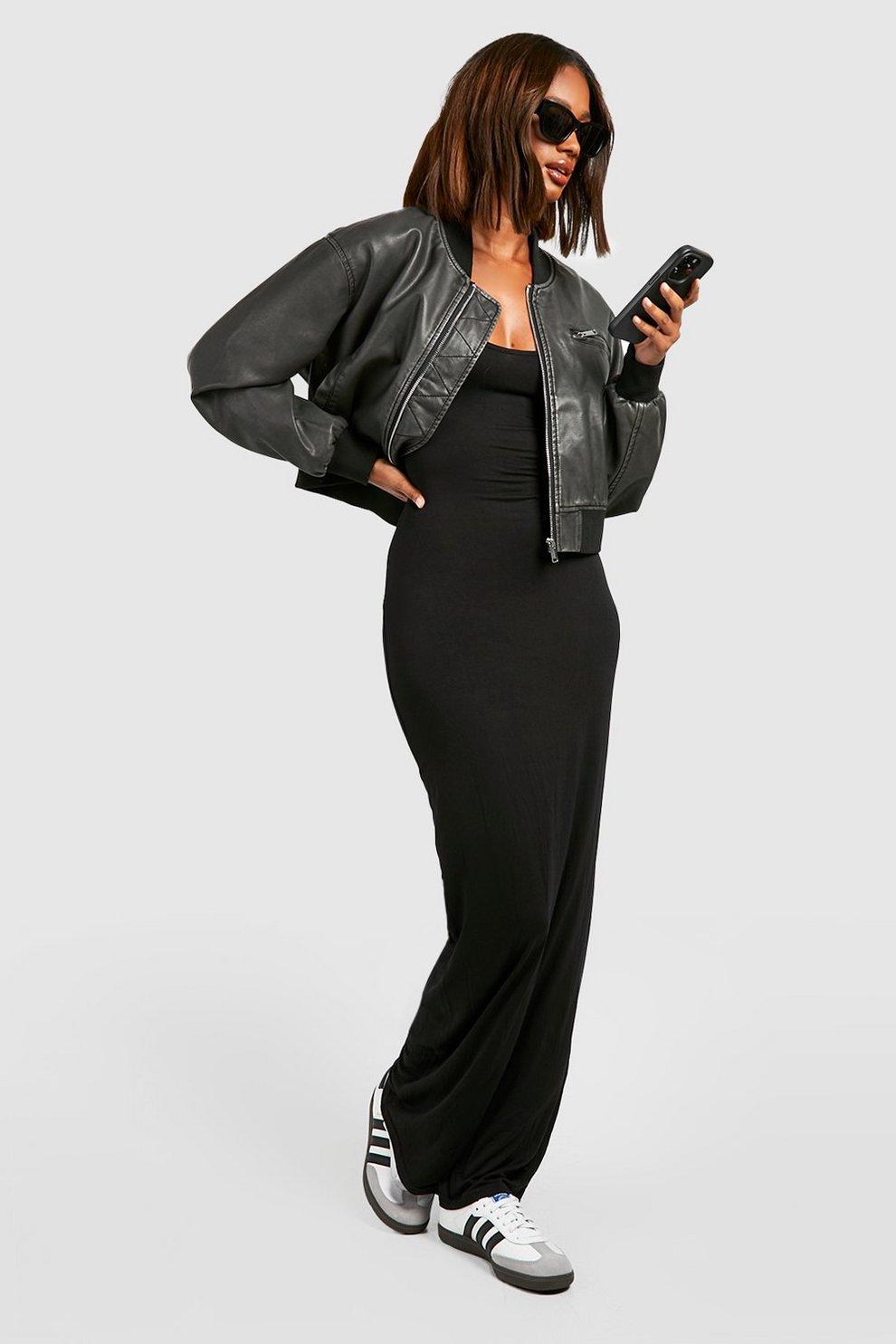 8d67c55978f Womens Black Maxi Dress