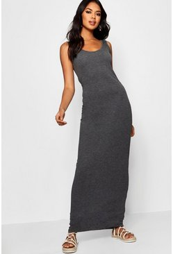 Womens Black Maxi Dress