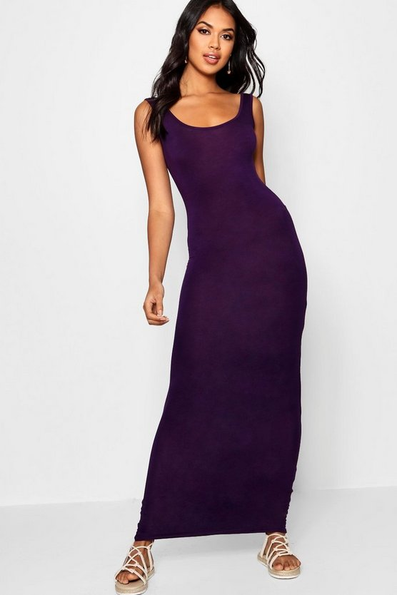 Womens Grape Maxi Dress