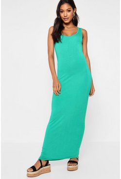 Bright green Maxi Dress