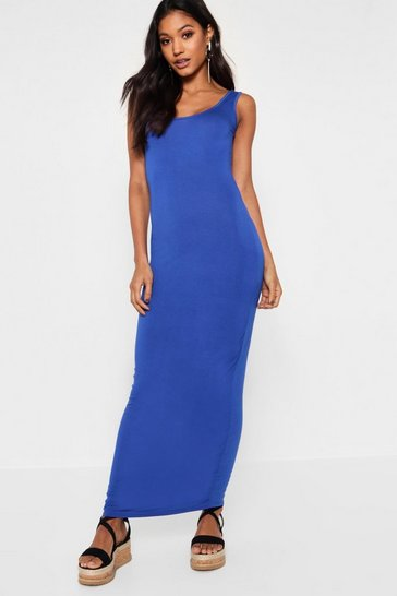Cobalt Maxi Dress