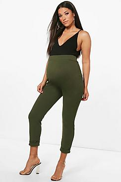 Maternity Turn Up Cuff Pants