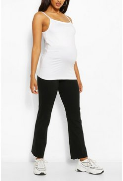 Maternity Over The Bump Lounge Trouser, Black
