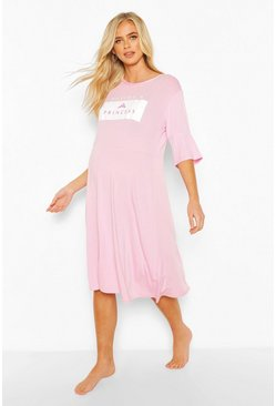 Maternity Disney Princess Nightie, Pink