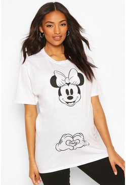 White Maternity Disney Mini Mouse T-shirt