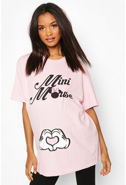 Pink Maternity Mini Mouse Disney T-shirt
