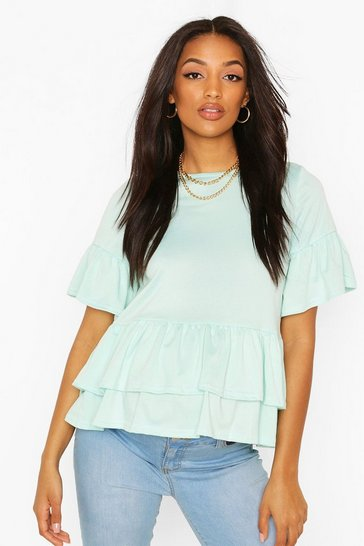 Mint Maternity Double Layer Smock Top