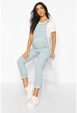Light blue Maternity Denim Dunagree