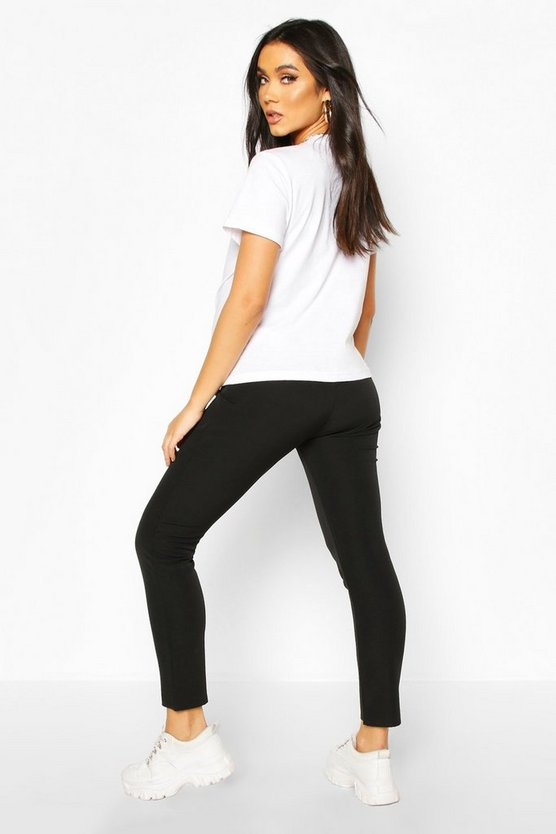 Maternity Twill Look Tapered Trouser