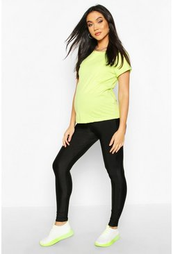 Black Maternity Disco Legging
