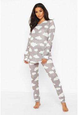 Light grey Maternity Cloud Lounge Set