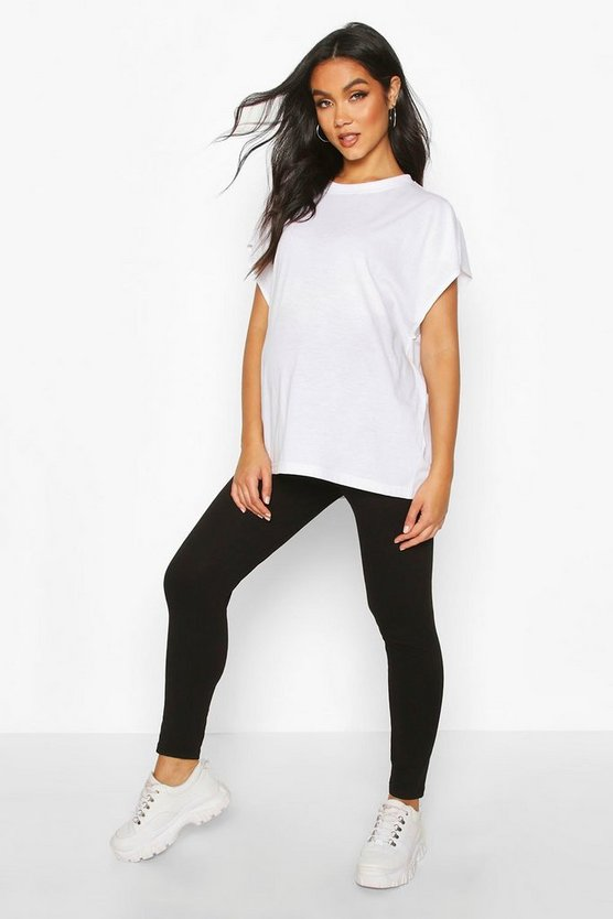 Black Maternity Bum Shaping Legging