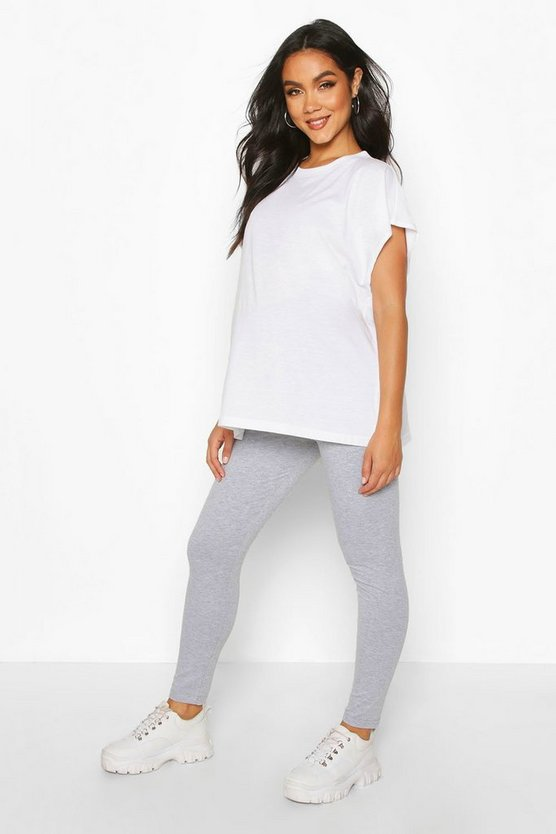 Womens Light grey Maternity Bum Shaping Legging