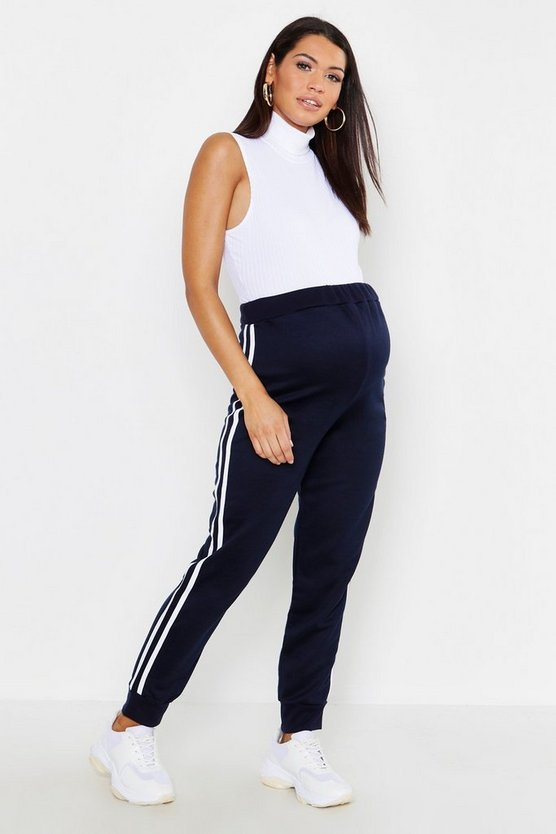 Maternity Side Stripe Jogger