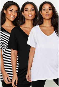 Multi Maternity 3 Pack T-Shirts