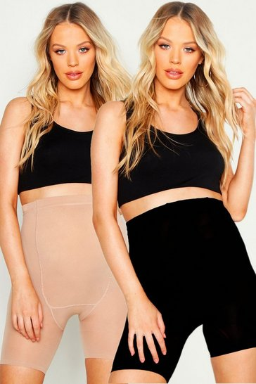Womens Multi Maternity 2 Pack High Waist Control Breif