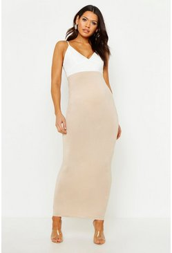Stone Maternity Over The Bump Maxi Skirt