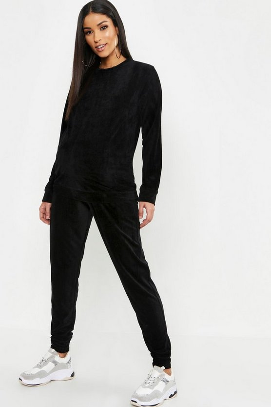 Maternity Terry Towelling Crew Neck Lounge Set