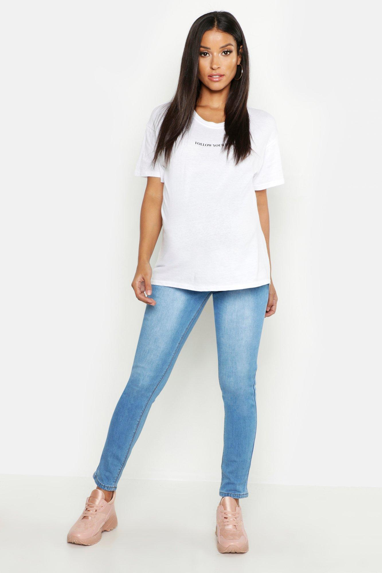 Maternity 5 Pocket Over The Bump Jean
