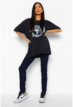 Womens Indigo Maternity Basic Jegging