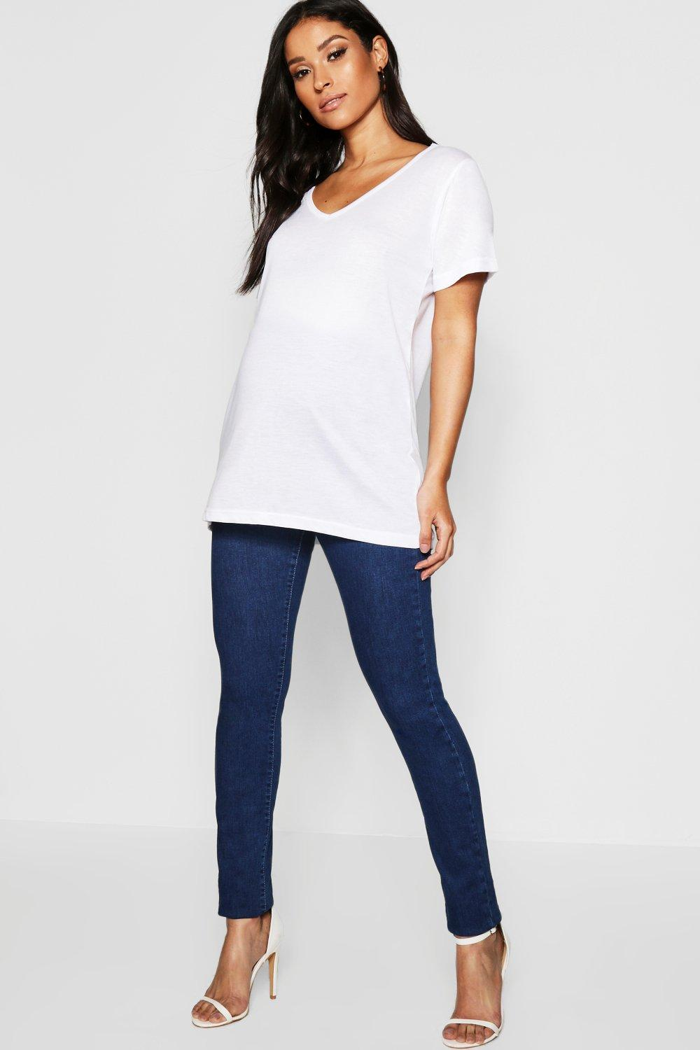 Maternity Over The Bump Stretch Skinny Jeans